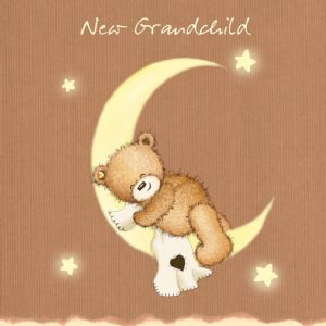 New Grandchild,New baby Card